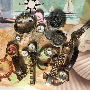 Various Watch Parts  Bundle - 106